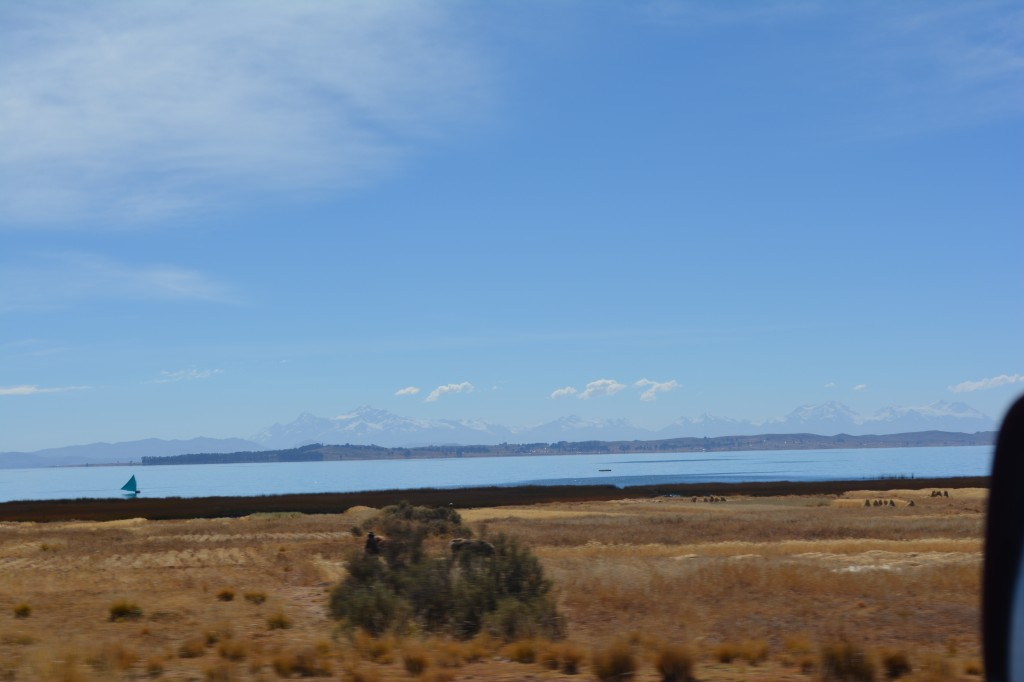 Lake Titicaca, beach camping at 1200 feet!